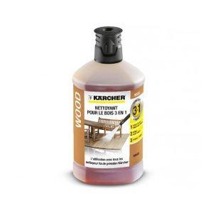 Kärcher 6.295-882.0 - Nettoyant bois 3 en 1 (1 litre) pour nettoyeur haute pression