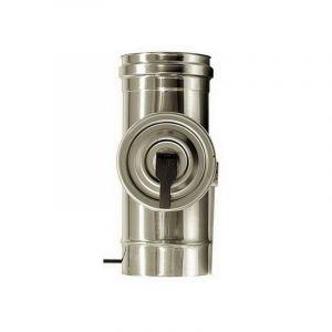 MBM Inspection de fumée cheminée élément dn 300 de tube en acier inoxydable INOX 316