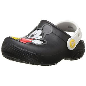 Crocs Fun Lab Mickey Clog Kids, Sabots Garçon, Noir (Black) 19/20 EU