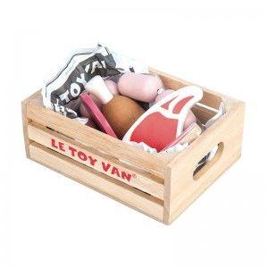 Le Toy Van Jouet en bois Marchande Caisse du Boucher Charcutier - Jouets en bois