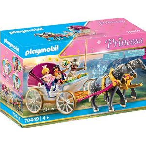 Playmobil Calèche et couple royal Princess 70449