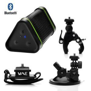 Hercules Outdoor BTP04 Adventure Pack - Enceinte portable Bluetooth IP64 + Kit d'accessoires complet