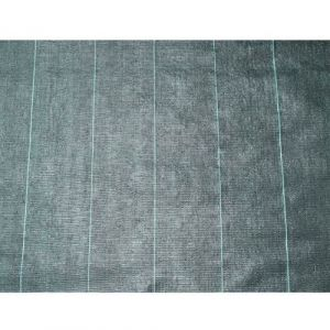 Nature Toile de paillage Noire 1x10m 6030300 Bâche de paillage résistante aux UV