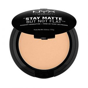 NYX Cosmetics Stay Matte But Not Flat 07 Warm Beige - Fond de teint en poudre