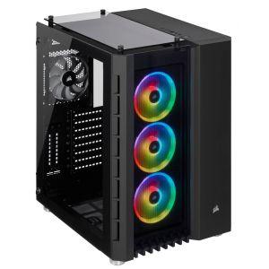 Corsair Crystal Series 680X RGB Tempered Glass, Noir (6 % de réduction avec le code POTION )