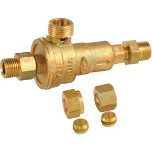 Frisquet Disconnecteur avec raccords Réf. F3AA40175
