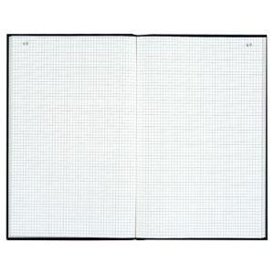 Exacompta Registre toile petit carreaux 200 pages (210 x 297 mm)