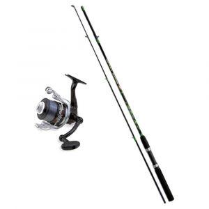 Lineaeffe Kit de pêche Combo Spinning - 2,1 m