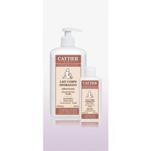 Cattier Lait Corps - Beurre de coco / vanille