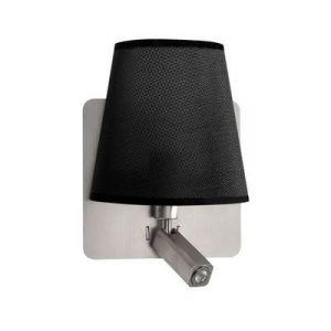 Mantra Applique BAHIA Nickel satiné LED 1x3W Noir - 5231