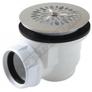 Nicoll 0205001 - Bonde de douche 60 grès à visser/à coller
