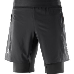 Salomon Fast Wing - Vêtement course à pied Homme - noir L Pantalons course à pied