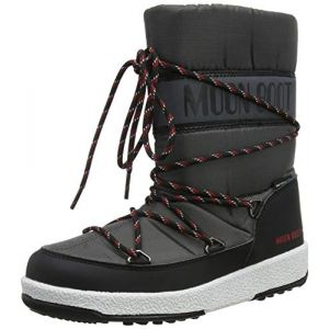 Moon boot Bottes neige enfant 34051300005 Gris - Taille 29