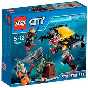 Lego 60091 - City : Ensemble de démarrage sous-marin