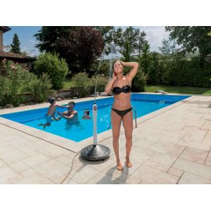 G.F. Douche solaire pour piscine Sunny Style - Gris