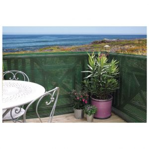 Nortene Clostra brise-vue en plastique, coloris vert, 500 x 120 cm