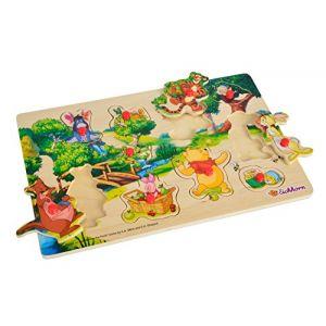 Eichhorn Puzzle en bois Winnie l'ourson 10 pièces