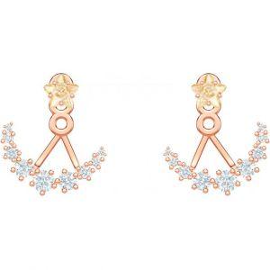 Swarovski Boucles d'oreilles 5486351 - Boucles d'oreilles Demi-Lune