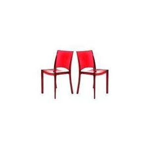 Naterial Paris Lux - Chaise de jardin en résine