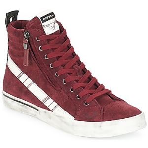 Diesel Baskets montantes D-VELOWS MID LACE rouge - Taille 40,41,44,45,46
