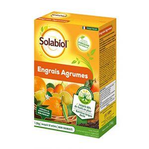 Solabiol SOAGY15 Engrais Agrumes 1,5 Kg, Utilisable en Agriculture Biologique