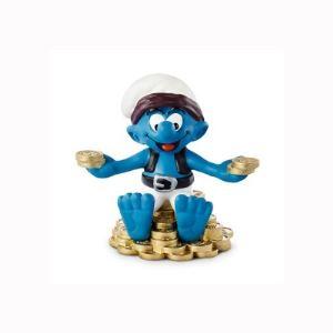 Schleich 20766 - Figurine Schtroumpf chasseur de trésor
