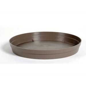 Eda Plastiques Toscane - Soucoupe ronde Ø54 cm pour pot Ø80 cm