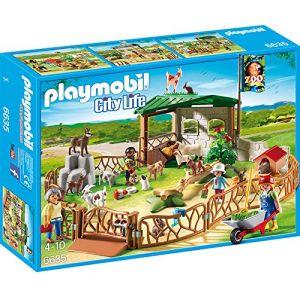 Playmobil 6635 City Life - Parc animalier avec visiteurs