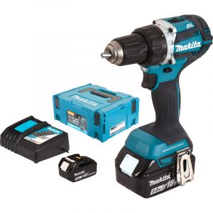 Makita Perceuse visseuse 18V Li-Ion 5Ah à 13 mm DDF484RTJ