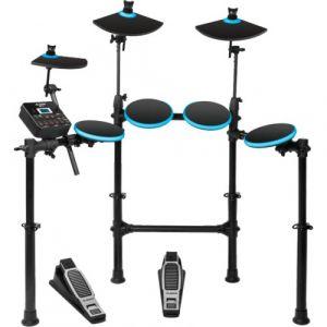 Alesis Kit DM Lite noir avec cymbales et pédale  - Batterie électronique