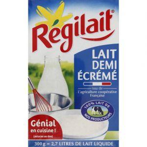 Régilait Lait instantané demi-écrémé, issu de fermes laitières françaises