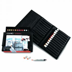 Copic Pochette Architecture - 12 feutres