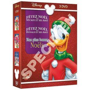 Coffret Disney : Fêtez Noël avec Mickey et ses amis - Nos plus beaux Noëls - Fêtez Noël avec Donald et ses amis
