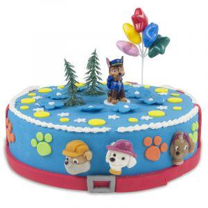 Kit de décoration de gâteau Pat'Patrouille Chase