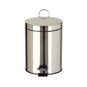 Rossignol (collecte déchets & hygiène) Poubelle de salle de bain en inox 5 L