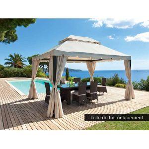 Toile pour tonnelle 4 x 3 comparer 428 offres - Tonnelle jardin 4x3 ...