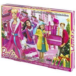 Mattel Calendrier de l'avent Barbie 2015