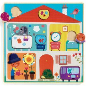Djeco Puzzle en Bois - Swapy