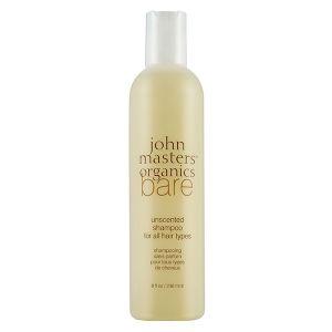 John Masters Organics Shampoing Bare sans parfum tous types de cheveux