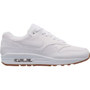 Nike Baskets Chaussure Air Max 1 pour Homme - Blanc - Couleur - Taille 45.5
