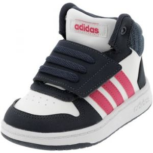 Adidas Chaussures enfant Baskets Hoops Mid 2.0 Blanc K