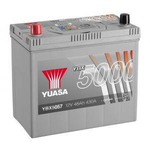 Yuasa YBX5057 Batterie de démarrage haute performance Argent