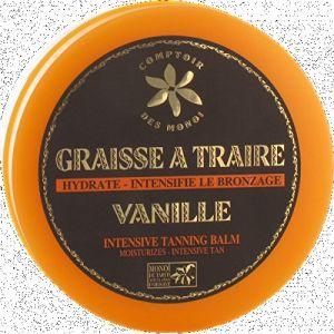 Comptoir des Monoï Graisse à traire vanille - Hydrate - intensifie le bronzage
