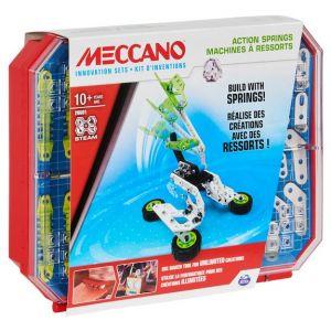 Meccano Kit d'inventions machines à ressorts