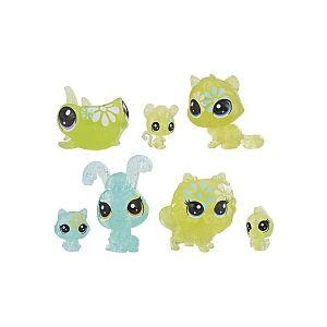 Hasbro Littlest PetShop - Jardin Enchanté - Tube 7 PetShop Minis & Teensies - Pâquerette