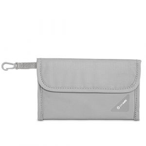PacSafe Coversafe V50 Antivol Blocage RFID Passeport Protector, Gris Neutre