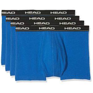 Head Lot de 2 boxers basiques pour homme M Multicolore - Bleu/noir