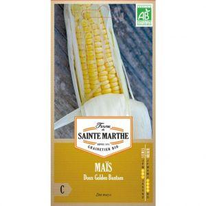 Ferme de Sainte Marthe Maïs doux Golden Bantam en sachet de 50 graines
