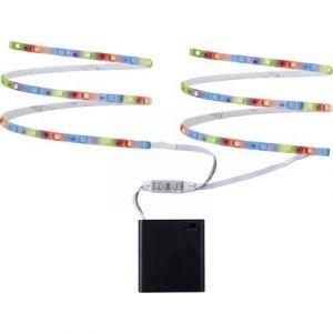 Paulmann Ruban LED (Set complet) avec compartiment pour batterie 70700 6 V 80 cm RVB 1 pc(s)