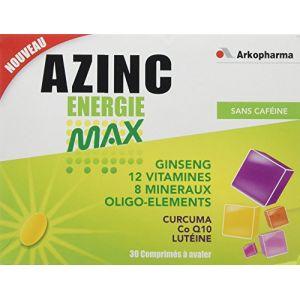 Arkopharma Azinc Energie Max - 30 comprimés